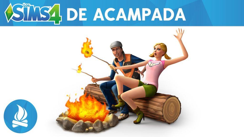 sims 4 acampada