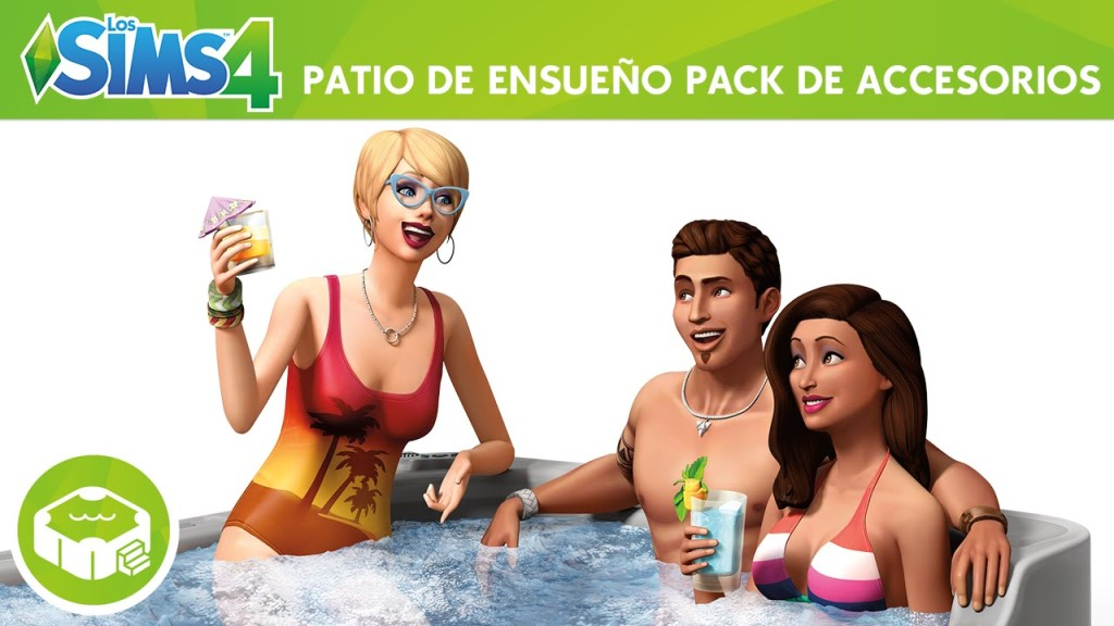 sims 4 patio de ensueño