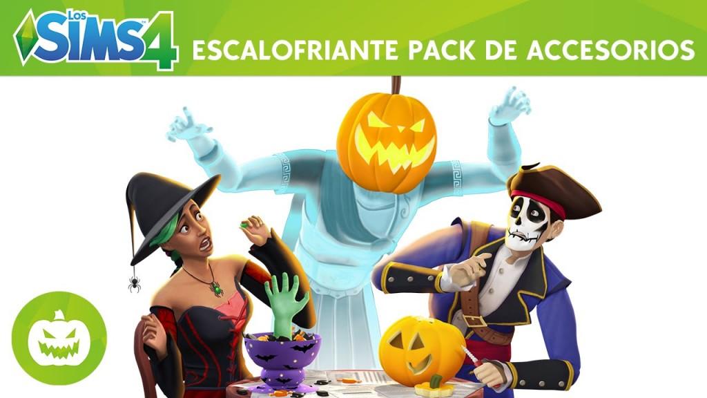 Los Sims 4 Escalofriante Pack de Accesorios