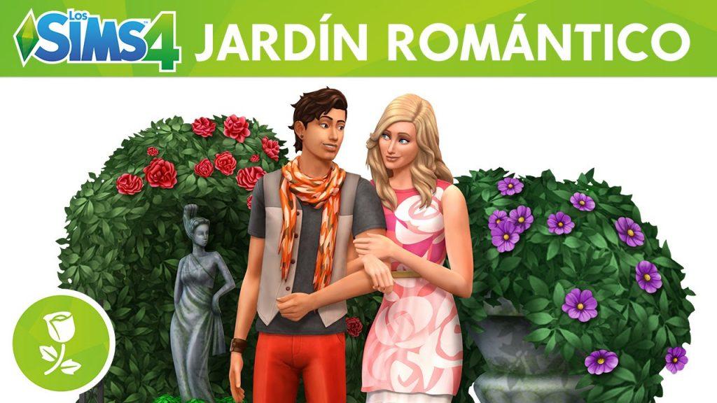 sims 4 jardin romantico