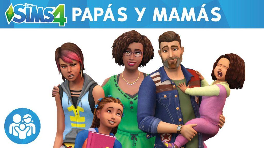 descargar sims 4 papas y mamas