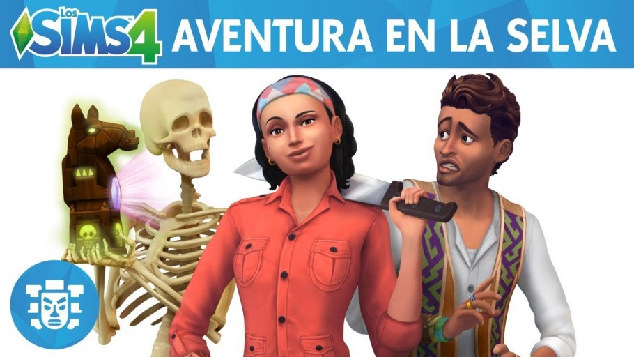 sims 4 aventura en la selva descargar