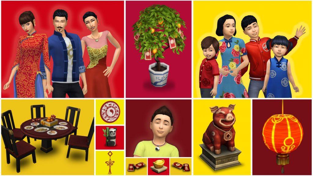 sims 4 año lunar chino